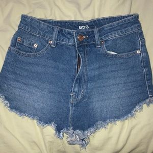 Urban outfitters BDG high wasted jean shorts